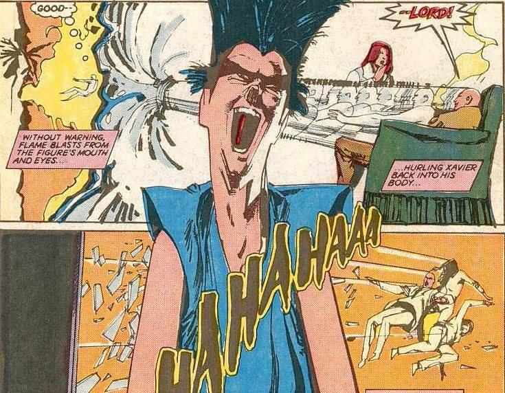 Xavier in Legion's Mind