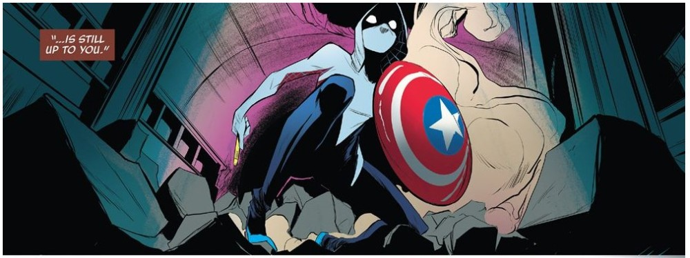 Spider-Gwen and the Shield