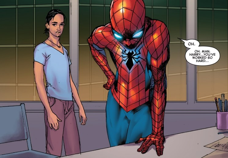 Spider-Man devastated